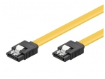 SATA kabelis 0.7m su fiksatoriais 6GB/s