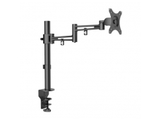 LINDY Single LCD Monitor Arm With Pole And Desk Clamp