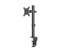 Lindy Single LCD Monitor Bracket With Pole And Desk Clamp
