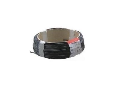 Silikoninis laidas, juodas 2.5 mm2, ritė 25m