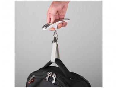 Skaitmeninės lagaminų svarstyklės iki 50kg 2