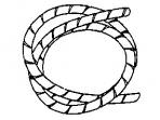 Spiralinis apsauginis vamzdelis 7-40mm (25m), baltas