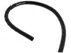 Spiralinis apsauginis vamzdelis 11-70mm (25m), juodas