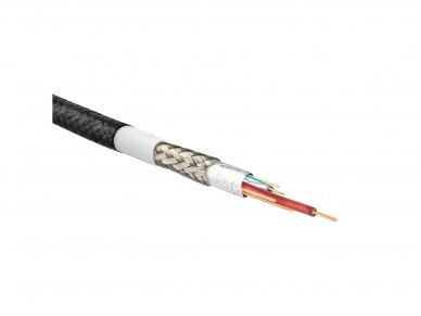 Sustiprintas USB micro B - USB A kabelis 3A, 1m 3
