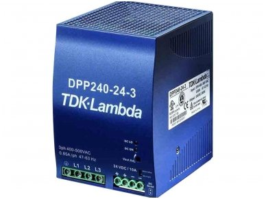 TDK-LAMDA maitinimo šaltinis DPP-240-24-3