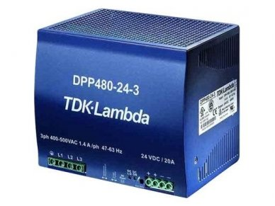 TDK-LAMDA maitinimo šaltinis DPP-480-24-3