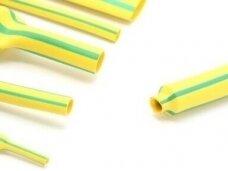 Termovamzdelis 2:1 18/9mm 100m geltonas/žalias, HF