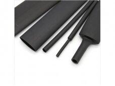 Termovamzdelis 2:1 2.5/1.25mm 200m juodas, HF