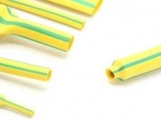 Termovamzdelis 2:1 9/4.5mm 1.2m geltonas/žalias, HF