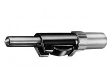 Testavimo zondas 4mm, juodas, su apsauga