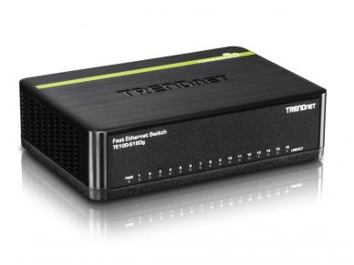 TE100-S16EG 16-port (16 10/100Mbps) komutatorius