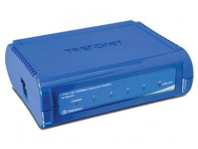 TE100-S5 5-port (5 10/100Mbps) komutatorius