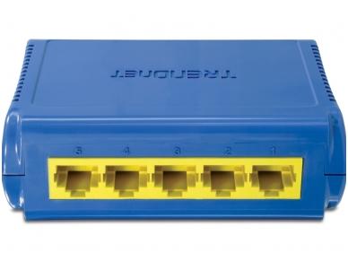 TE100-S5 5-port (5 10/100Mbps) komutatorius 2