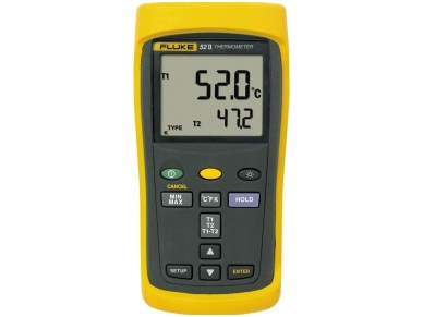 Termometras FLUKE 52-2