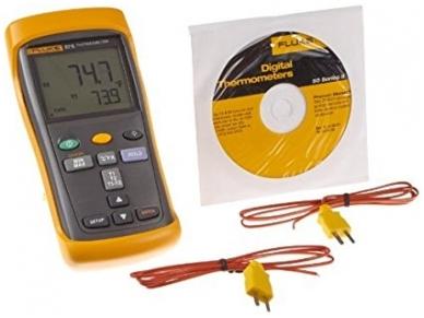 Termometras FLUKE 52-2 2
