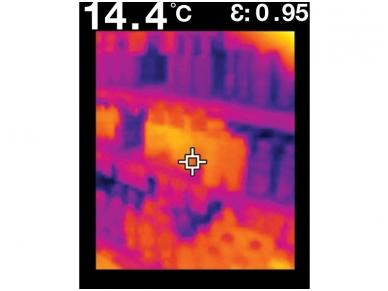 IR termometras FLIR TG165 6