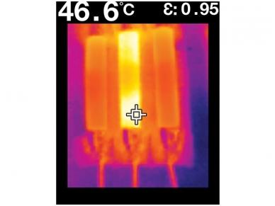 IR termometras FLIR TG165 8