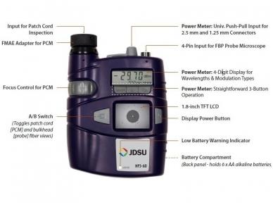 Testavimo ir valymo rinkinys su HP3-60-P4-EU mikroskopu 3