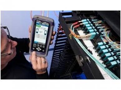 Testeris Certifier40G Class FA su MM moduliais 3