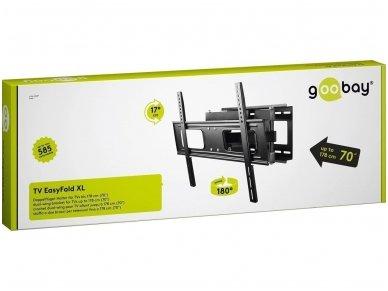 """TV laikiklis 32""""-75"""" iki 40kg, EasyFold XL 4"""