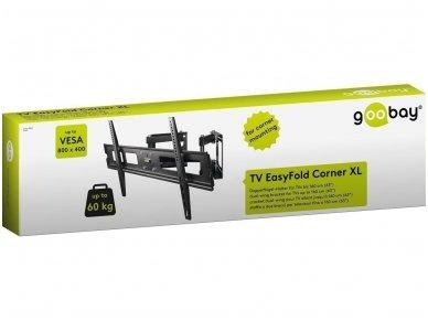 """TV laikiklis 37""""-65"""" iki 60kg, Corner XL 3"""
