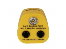 Lindy UK Anti-Static Earth Bonding Plug. 1 x Stud