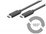 USB-C 3.1 kabelis 0.5m 5 Gbit/s