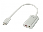 USB-C į audio 2x3.5mm keitiklis