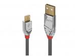 USB kabelis A - micro B 0.5m CROMO Line