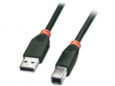 USB 2.0 kabelis 7.5m (A-B)