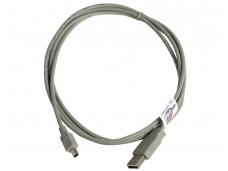 USB 2.0 Mini kabelis 5 kontaktų 1.8m