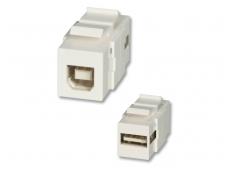 USB A-B perėjimas, Keystone tvirtinimas