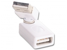 USB A (M) - A (F) perėjimas, 360L, Lindy