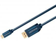 USB-C į DisplayPort kabelis 1m 4K 60Hz DP1.2