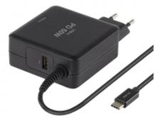 USB-C įkroviklis 60W 1xUSB A