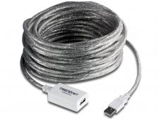 USB 2.0 ilgiklis 12m su stiprinimu