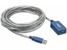 USB 2.0 ilgiklis 5m su stiprinimu
