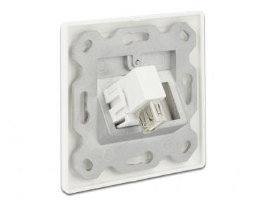 USB 2.0 A F - A F kampinis perėjimas Keystone 2
