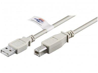 USB 2.0 kabelis 3.0m (A-B)