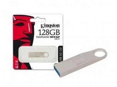 USB 3.0 atmintinė 128Gb, Kingston 4