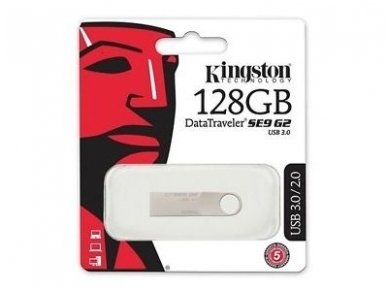 USB 3.0 atmintinė 128Gb, Kingston 5