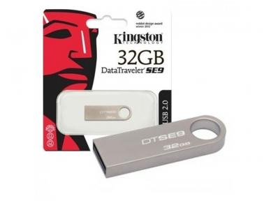 USB 3.0 atmintinė 32Gb, Kingston 2