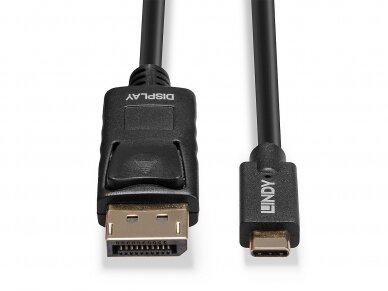 USB-C į DisplayPort kabelis 5m 4K 60Hz HDR 4
