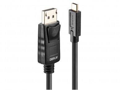 USB-C į DisplayPort kabelis 5m 4K 60Hz HDR