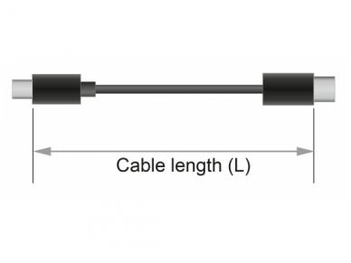 USB kabelis A M - magnetinis Micro, USB-C, Lightning  1m 5
