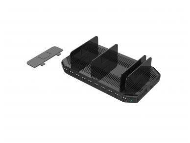 USB krovimo stotelė, 10 p x 2.4A 4