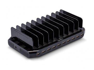 USB krovimo stotelė, 10 p x 2.4A 2