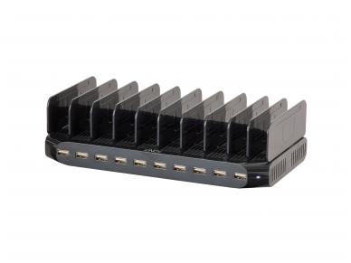 USB krovimo stotelė, 10 p x 2.4A 3