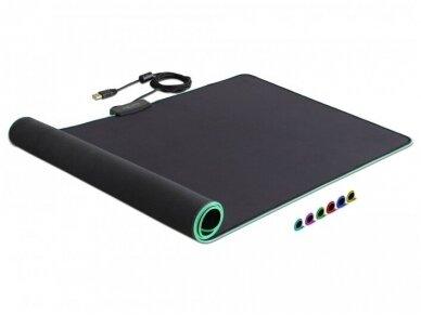 USB pelės kilimėlis su RGB, 920x303x3mm