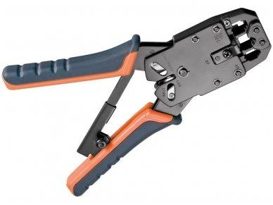 Užspaudimo įrankis WZ04M RJ45/11/12 jungtims
